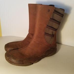 TEVA Waterproof Brown Ankle Boot